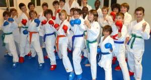 Ninja karaté de 9 – 11 ans