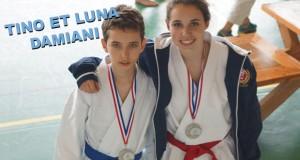 Tino et Luna Damiani en route pour les France