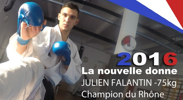 Julien Falantin champion du Rhône 2016