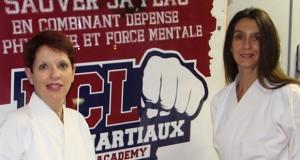 Annie Gibaud et Valérie Polly  récompensées d'un 2eme Dan de karaté