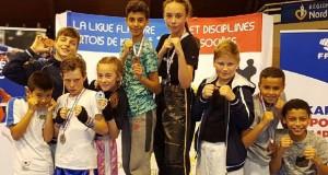 CARTON PLEIN POUR LE FCL  aux championnats de France Karaté Contact 2018