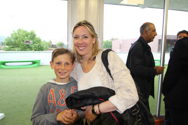 Caroline et son fils